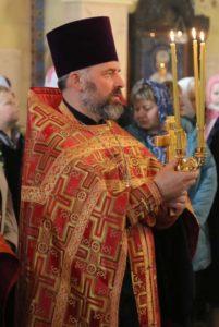 Архиепископ Иоанн возглавил Пасхальную Вечерню в храме Тихвинской иконы Божией Матери г. Бреста